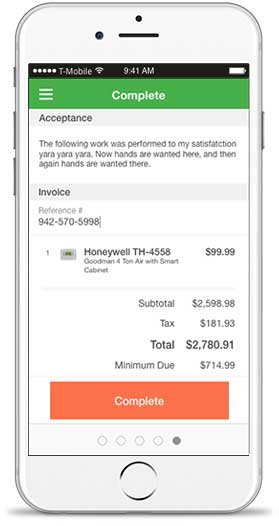 FieldEdge Mobile Invoice