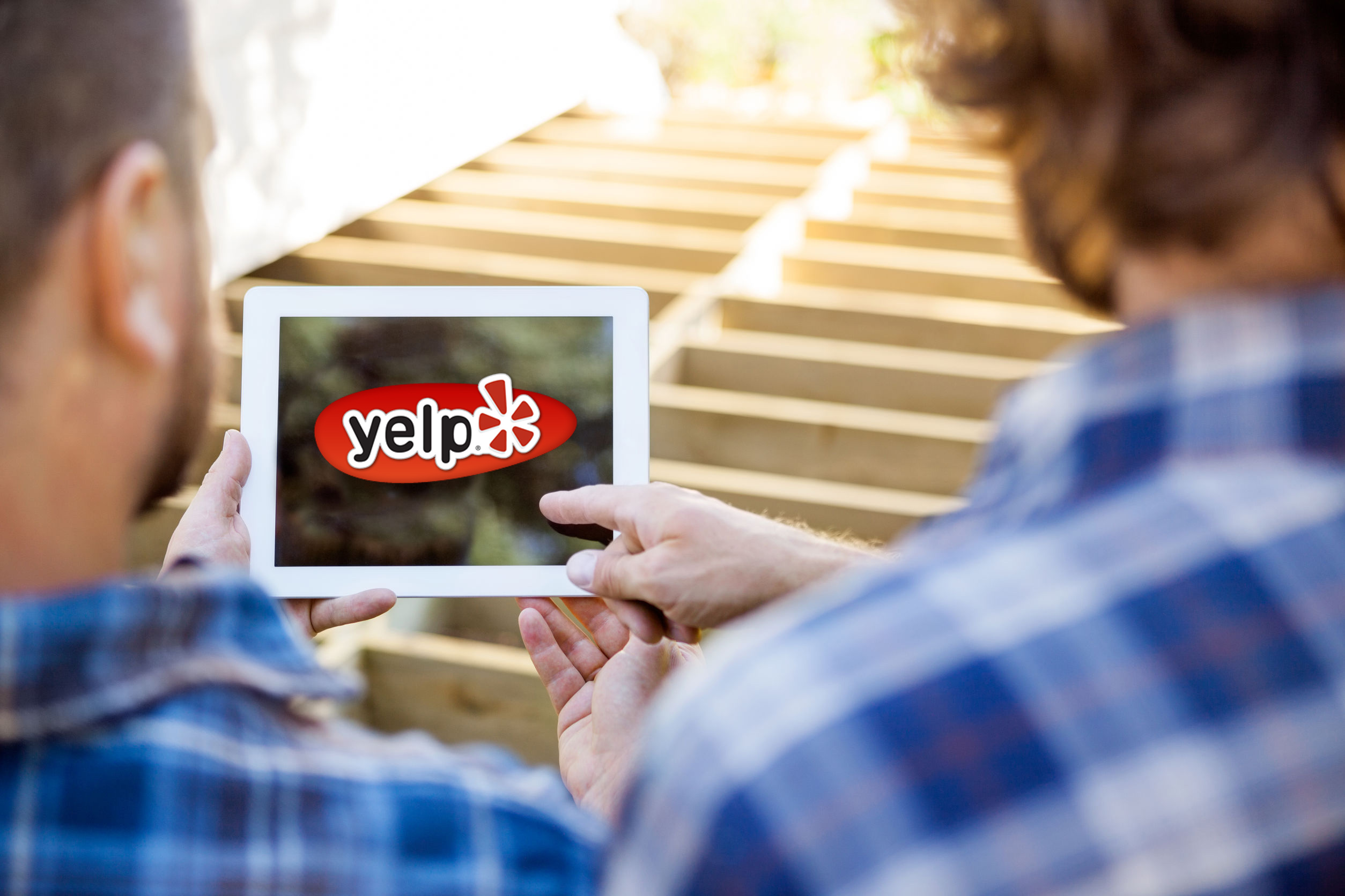 yelp on an ipad