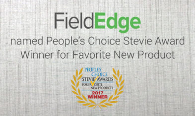 FieldEdge® Announced in People's Choice Stevie® Awards for Favorite New Products
