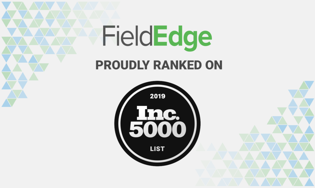 fieldedge inc 5000 2019