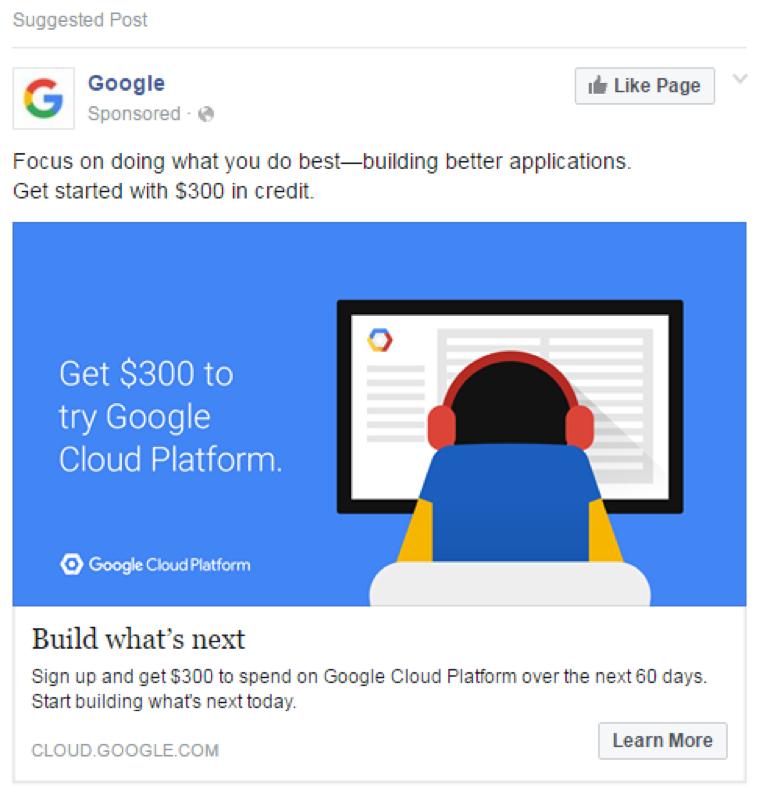 HVAC Facebook Ads - Page Like Ads