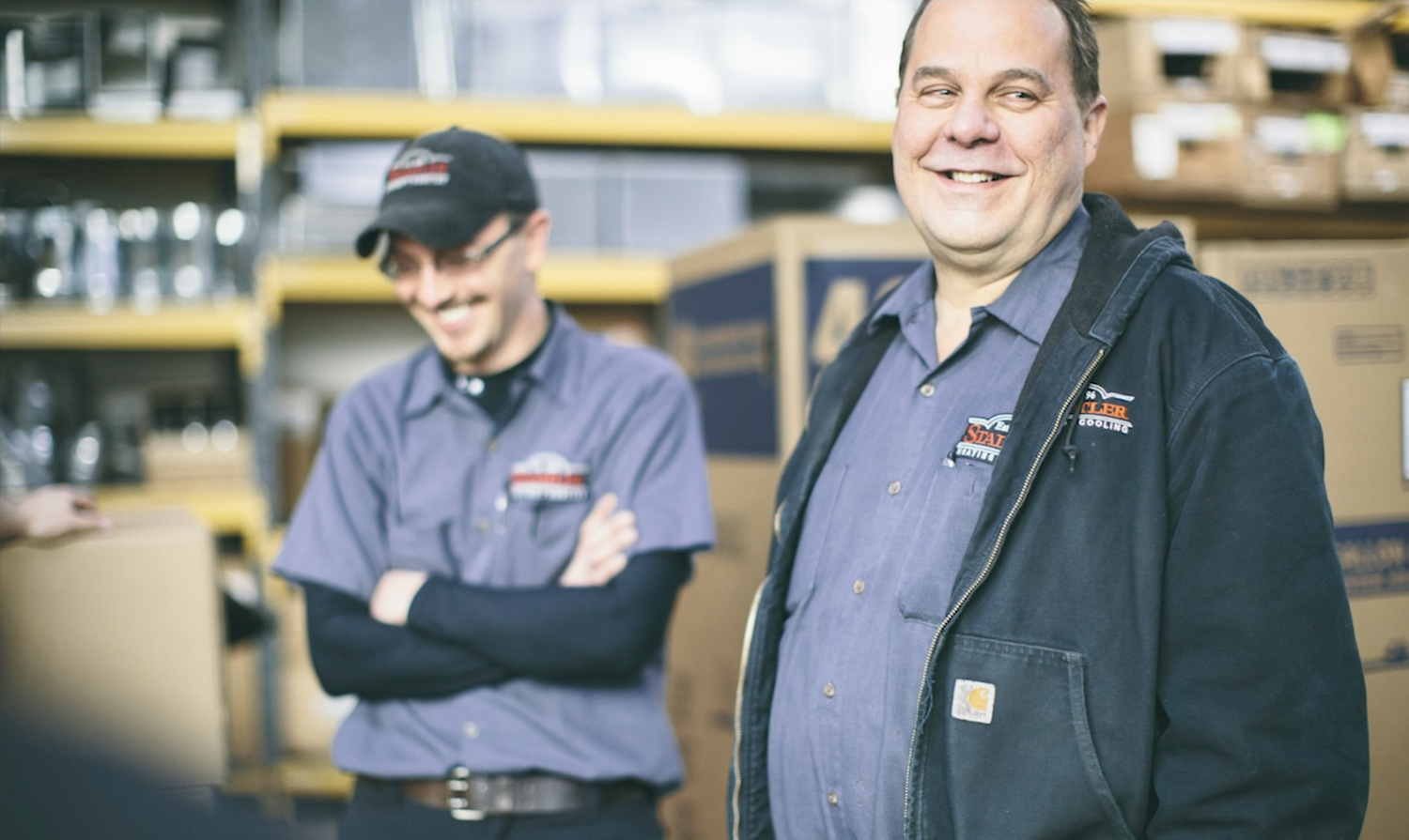 Stadtler HVAC Employees