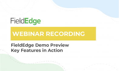 Webinar Recording: FieldEdge Demo Preview
